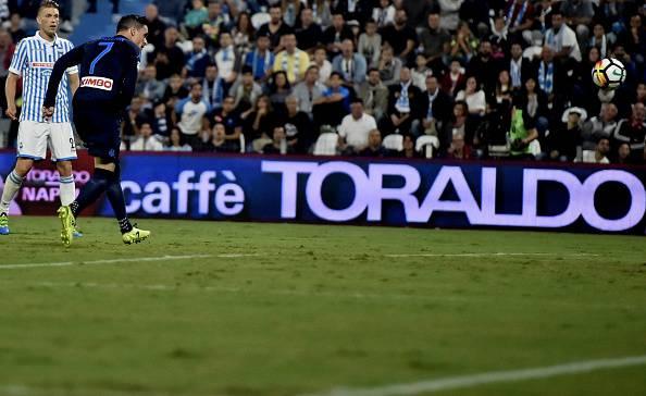 Serie A, rimonta Napoli. Ghoulam piega la resistenza della SPAL