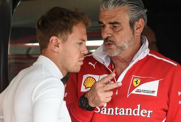 Vettel e Arrivabene gp malesia