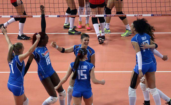Europei volley femminile, l'Italia parte subito bene: battuta la Georgia 3-0