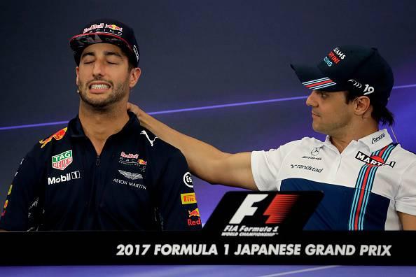 Ricciardo e Massa gp giappone
