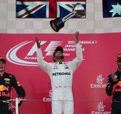 Max Verstappen, Lewis Hamilton e Daniel Ricciardo