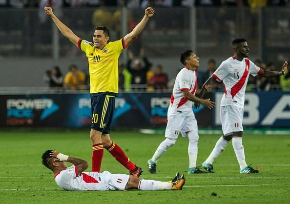 Colombia Perù qualificazioni mondiali