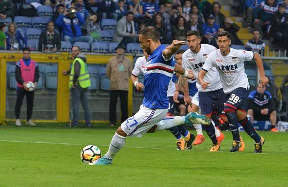Serie A, pokerissimo della Sampdoria. Il Crotone va ko 5-0
