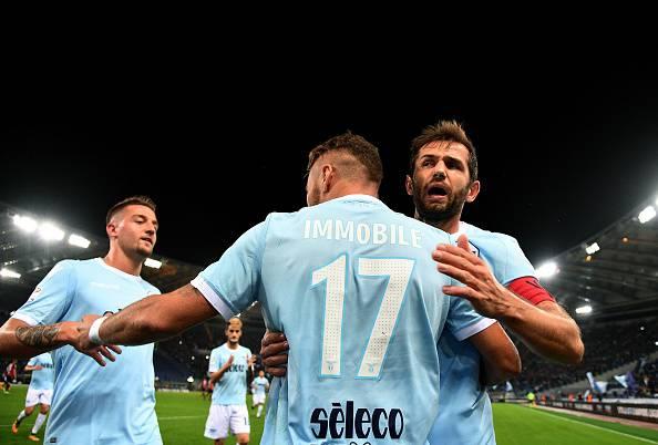 Serie A: la Lazio supera anche il Cagliari, finisce 3-0. Doppietta di Immobile