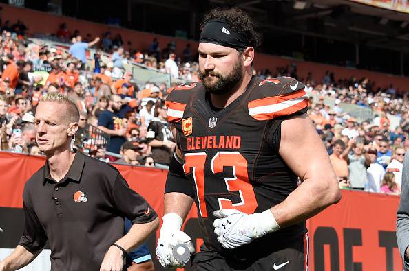 NFL, tegola per i Cleveland Browns: Joe Thomas out tutta la stagione