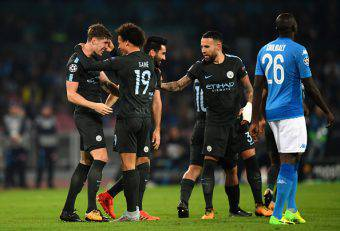 napoli manchester city champions league