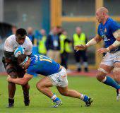 rugby test match italia fiji