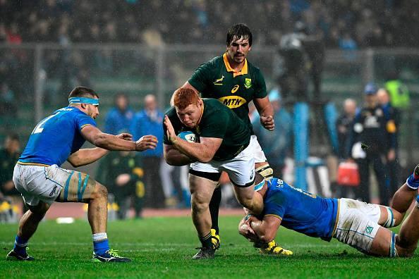 Rugby, il Sudafrica si prende la rivincita, Italia ko 35-6