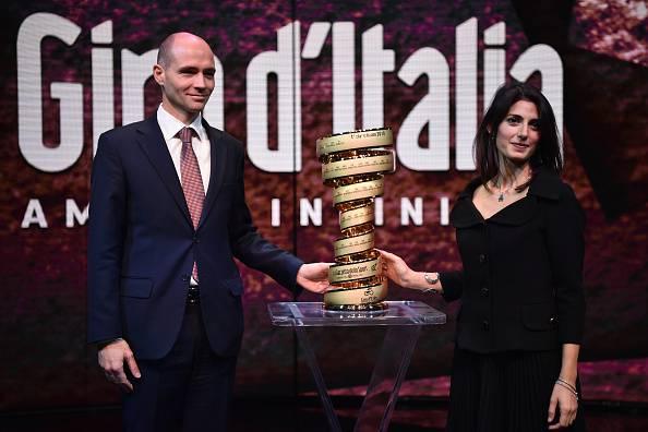 presentazione giro d'italia 2018