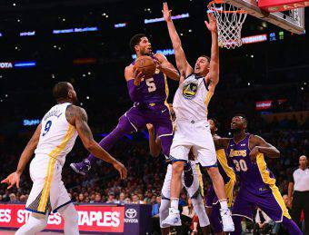 los angeles lakers golden state warriors