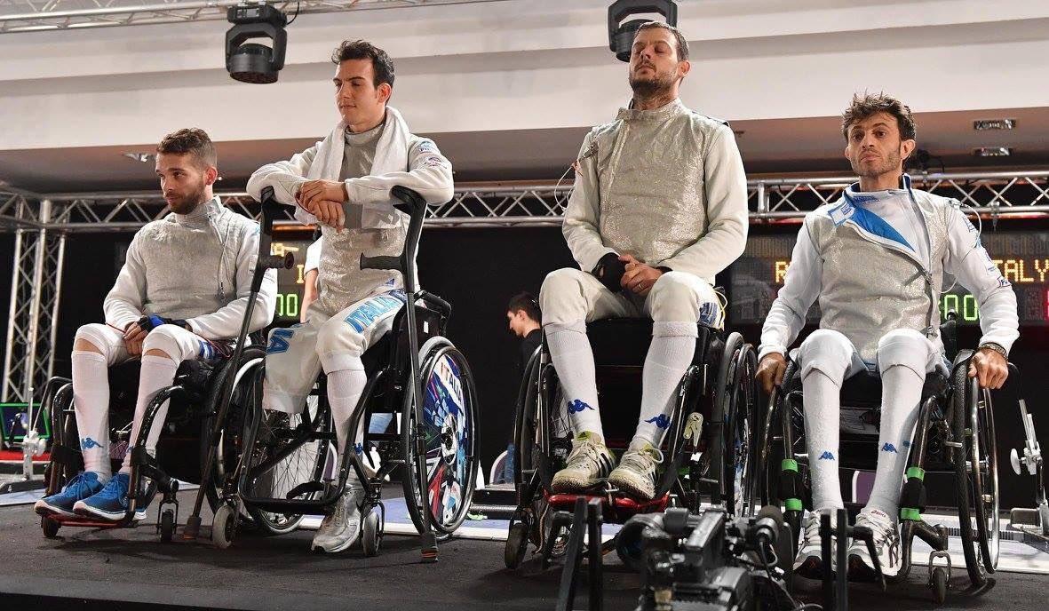 mondiali scherma paralimpica