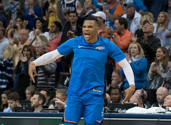 NBA: show Westbrook e Beal, vincono Raptors, Thunder e Wizards