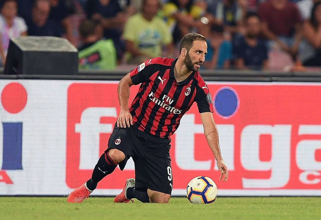 Higuain in crisi