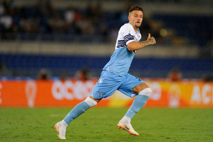 Milinkovic Savic infortunio