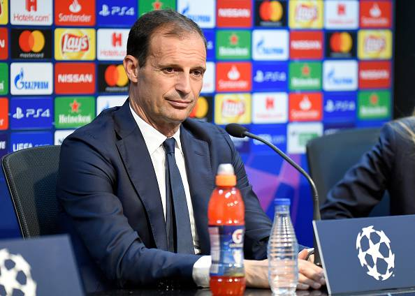 Allegri in conferenza