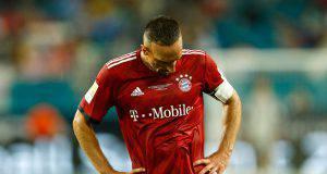 Ribery non nasconde la delusione