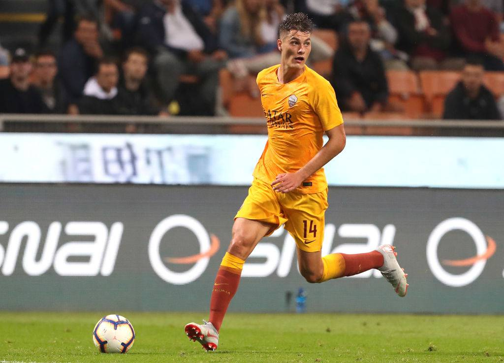 Patrick Schick attaccante As Roma