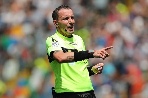 E' Mazzoleni l'arbitro di Milan-Lazio ritorno della semifinale di Coppa Italia