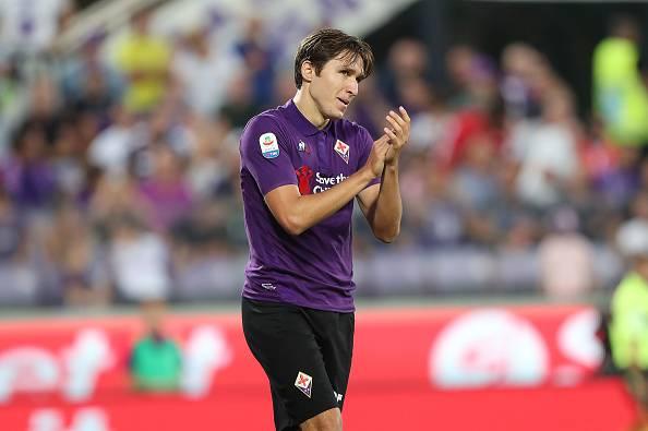 Forcing Juve per Federico Chiesa attaccante Fiorentina