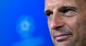 Massimiliano Allegri prima di Juventus-Spal