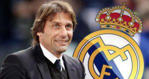 Antonio Conte nuovo allenatore del Real Madrid