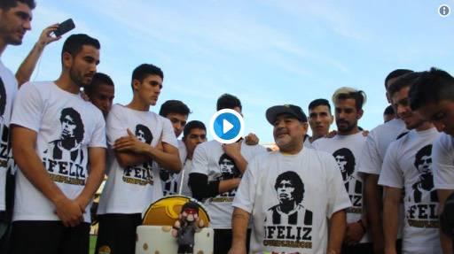 Dorados festa compleanno di Maradona