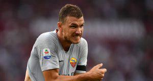 Edin Dzeko si sfila la maglia della Roma?