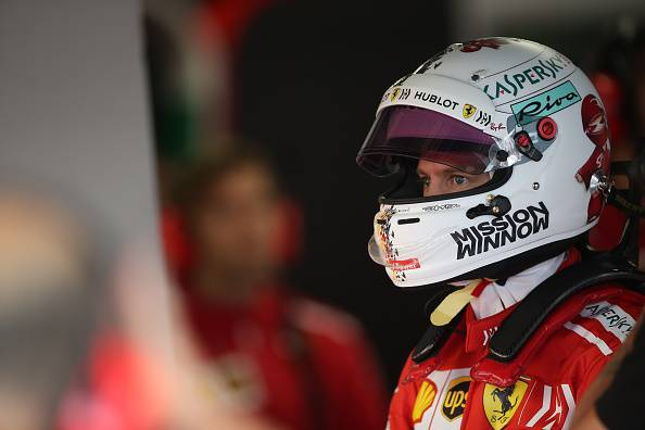 Formula1 Suzuka Vettel: