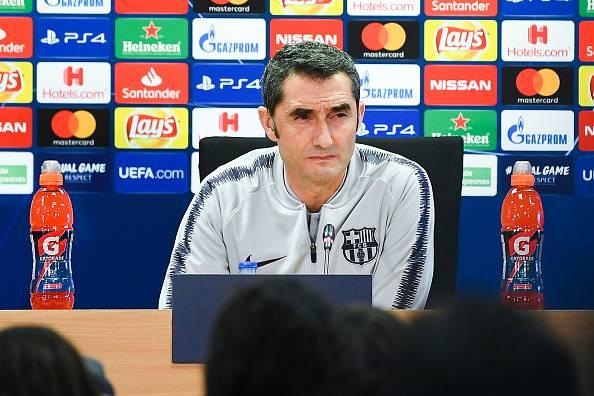 Valverde in conferenza stampa