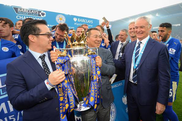 Leicester campione inglese 2016