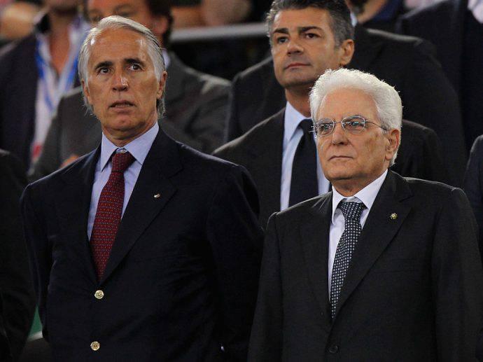 Il presidente della Repubblica alle azzurre del Volley: