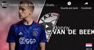 Van de Beek dell'Ajax obiettivo in gennaio