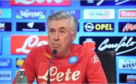 Ancelotti Napoli conferenza vigilia Milan