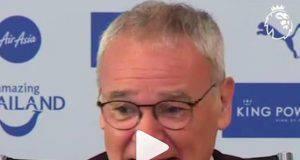 Claudio Ranieri clip battute