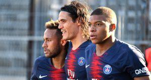 Mbappe, Cavani e Neymar