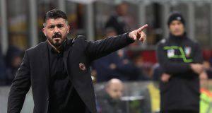 Gennaro Gattuso prima di Lazio-Milan