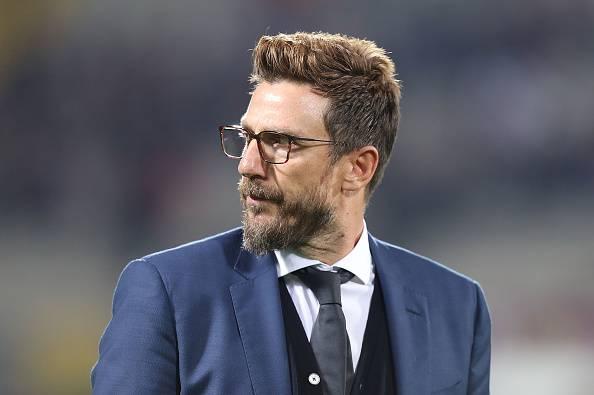 Eusebio Di Francesco dopo la sconfitta contro la Juventus