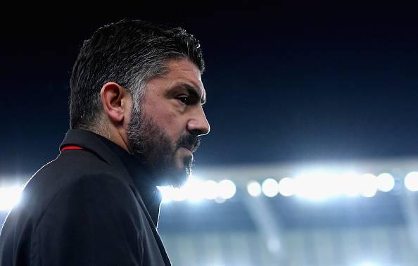 Gennaro Gattuso Olympiakos-Milan