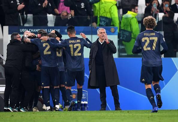 esultanza Mourinho contro Juventus