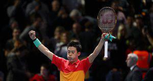Nishikori batte Federer