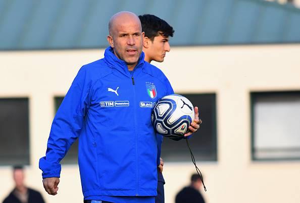 Gigi Di Biagio, allenatore dell'Italia Under 21
