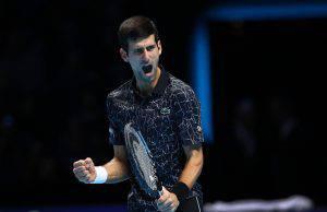 Djokovic in finale Atp Finals