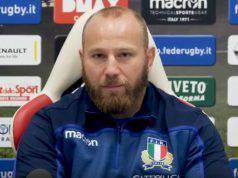 Leo Ghiraldini su Italia-Australia