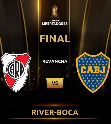 River Plate-Boca Juniors Copa Libertadores