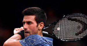 Novak Djokovic Rolex Paris Master