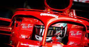 charles leclerc f1 formula1 test abu dhabi pirelli ferrari