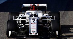 kimi raikkonen alfa sauber f1 formula1 test pirelli abu dhabi
