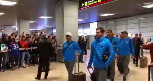 Boca Juniors arrivo a Madrid