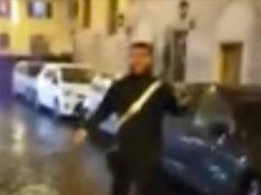 Carabiniere aggredito dopo Lazio-Eintracht