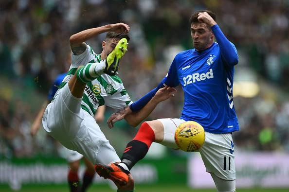 Rangers Celtic palla contesa